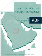 Geology of the Shield of the Arabian Peninsula and Maps 560-A