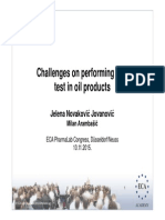 Challenges on performing LAL test in oil products.paper no. 95.