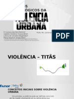 Seminário Violência Urbana