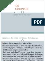 PRINCÃ-PIOS CONSTITUCIONAIS