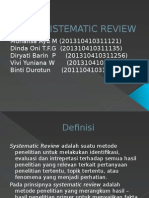 Sistematic Review