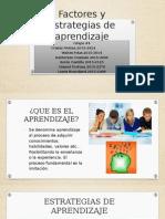 Grupo 4 Factores y Estrategias de Aprendizaje