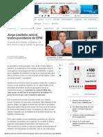 Jorge Londoño, Nuevo Presidente de La EPM - Empresas - ELTIEMPO