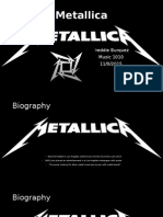 metallica powerpoint