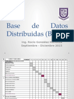 Base de Datos Distribuidas (BDD)