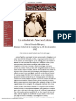 Garcia Marquez Premio Nobel