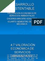 Valoracion Economica de Servicios Ambientales