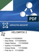 Kelompok 2 - Hipnotik-Sedatif