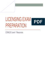 Board Prep-COMLEX Level 1 Resources