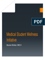 Mental Health Task Force Medical Student Wellness Initiative