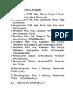 Penyusunan RTBL Kws