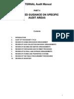 Sample Audit Program