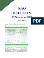 Bulletin 151115 (HTML Edition)