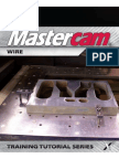 MastercamX7 Wire TrainingTutorial