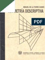 Geometria Descriptiva [Miguel de La Torre Carbó]