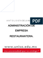 ADMINISTRACIÓN+DE+EMPRESA+RESTAURANTERA.