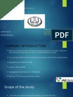 NPA of Jammu and kashmir bank
