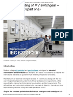 Internal Arc Testing of MV Switchgear - IEC 62271-200 (Part One) _ EEP