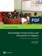 Knowledge, Productivity and Innovation in Nigeria