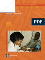 Fiscal Space for Health in Uganda