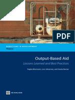 Output-Based Aid