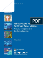 Public-Private Partnerships for Urban Water Utilities