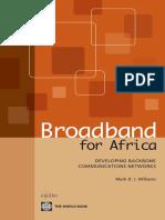 Broadband for Africa