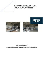 Model Scheme on Bulk Milk Cooling Centers