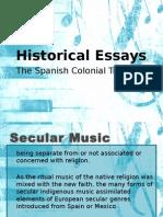 Secular Music Ppt