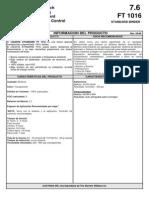 Standard Binder Ft 1016