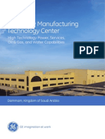 GE in Saudi Arabia, Manufacturing Technology Center