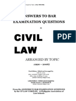 1990 2006 Bar Questions Civil Code