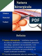 Sutura Chirurgicala