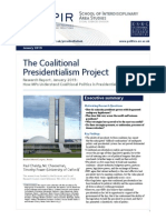 Coalitional Presidentialism Project Report