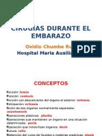 Cirugías Durante El Embarazo