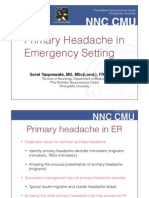 Headache in Emergency Condition