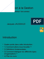 Introduction a La Gestion -2014-2015 - Pour Revisions d Examen