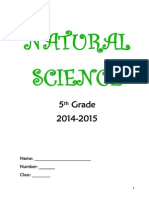 Natural Science 5th Grade