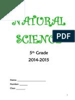Natural Science 5th Grade