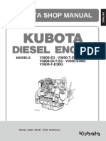 Kubota v3600 Engine Manual
