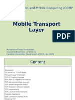 Mobile Transport Layer