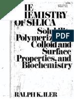 Chemistry of Silica - Ralph Iler