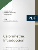 GRUPO 1 Calorimetria