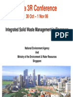 solid waste management code of singapore