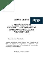 Texto Visões de Luz - Ladislão Pedro Szabo