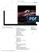 Specifications - Rimac Automobili