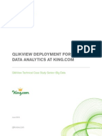 QlikView Deployment for Big Data Analytics at King Com Technical Case Study
