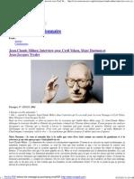 Le Nouveau Réactionnaire » Jean-Claude Milner, Interview avec Cyril Veken, Marc Darmon et Jean-Jacques Tyszler.pdf