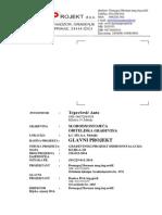 Glavni Projekt - Hidroinstalacije