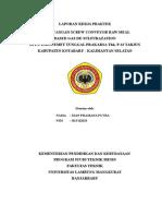 Perancangan Screw Conveyor Raw Meal Based Gas De-Sulfurazation Di Pt. Indocemet Tunggal Prakarsa Tbk. P-12 Tarjun Kabupaten Kotabaru - Kalimantan Selatan